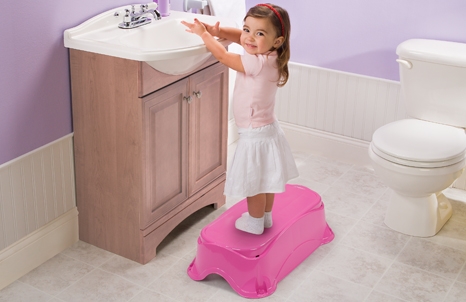 Right Height® Bath Tub (Pink)