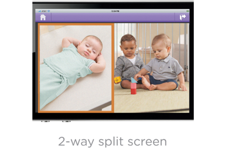 Baby Zoom™ WiFi Video Monitor & Internet Viewing System