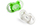 Bliss Natural Shape Pacifier 2 Pack 6M+ (Green)