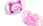 Bliss Natural Shape Pacifier 2 Pack 6M+ (Pink)