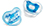 Bliss Orthodontic Pacifier 2-Pack 6+M (Blue)