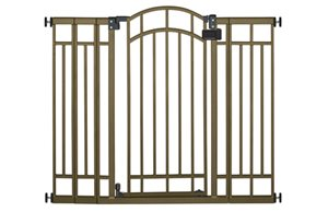Multi-Use Decorative Extra Tall Walk-Thru Gate (Bronze)